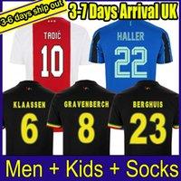 XXS-4XL L'ultima 21 22 maglie da calcio Maillots de piede camisas de futebol 2021 casa via terzi e kit bambini senza calzini set completo di calcio jersey