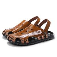 Sandals Vietnam Leather Playa Man Roman Sandali De Rubber Sandals-men Verano Zandalias Sandalen Summer Sandalia Couro Sandles V