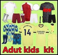 S-4XL Arsen 4th Soccer Jersey Gunners 21 22 Saka Thomas Willian Nicolas Tierney 424 مجموعة قمصان كرة القدم الرجال الاطفال الرابع Humanrac