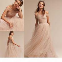 Bohemian Bridesmaid Formal Dress cheap prom dresses robes de demoiselle d'honneur Abendkleider cocktail party dresses Off The Shoulder