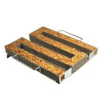 Accessori barbecue BBQ BBQ Pellet Maze Fumatore Generatore di fumo freddo Acciaio inossidabile Apple Chips Smoking Grill Strumenti Grill