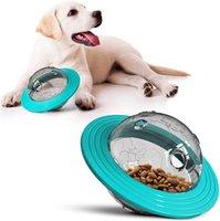 İnteraktif Köpek Oyuncakları IQ Tedavi Topu Gıda Dağıtım Doggy Bulmaca Oyuncak Küçük Orta Köpekler Için Oynamak Chawing (Mavi) H02