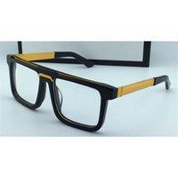 الكلاسيكية خمر مربع إطار الرجال تصميم النظارات البصرية 0078 بيع شعبية بسيطة الرجعية نمط أعلى جودة عدسة عدسة شفافة