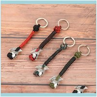 And Camping Hiking Sports & Outdoorsrune Bead Lanyard Keychain Outdoor Survival Paracord Rope Warrior Jewelry Handmade Car Key Knife Keyring