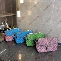 مصمم حقائب الكتف حقيبة يد فاخرة الأزياء محفظة قماش متعدد الألوان المنسوجة حقيبة تسوق المصممين للجنسين الصفراء سعة كبيرة 20
