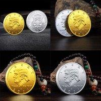 2021 Machen Sie Amerika toll wieder Gedenkmedaille-Kopie Goldmünzen Donald Trump-Münze