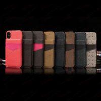 Flower Folio Phone Cases Kartensteckplatz Helferabdeckung für iPhone 12 12Pro 11 11PRU X XS MAX XR 8 7 PLUS 8PLUS 7PLUS Leder Rückenschale Smartphone Fall