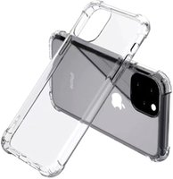Soft TPU Transparent Clear Phone Case Protect Cover Shockproof Cases For iPhone 13 11 12 pro max 7 8 X XS note10 S10