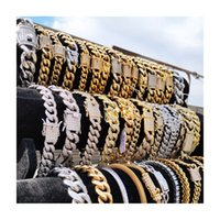 2020 Miss wholesale hip hop jewelry 14K 18K gold plated CZ diamond iced out custom cuban link chain bracelet for men