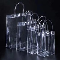 Duffel Bags Laser Transparent Handbag Summer PVC Holographic Clear Luxury Women Large Capacity Fashion Shopping Travel Bag 2021