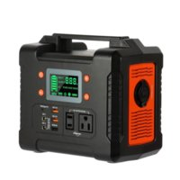 330W 휴대용 발전소, 백업 배터리 팩, Flashfish 110V AC / DC / USB / PD-Type-C / 자동차 포트 / SOS 라이트 포함 81000mAh 태양 발전기