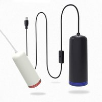 Storage Bags Mini Air Vacuum Pump USB Packing Machine For Travelling Household Kitchen Home Sous Vide Packer Tool