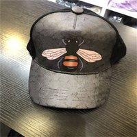2021 дизайн мужские бейсболки кепки женщины бренд тигра головы шляпы пчелы змея вышитые костные мужчины женщины casquette солнце шляпу горас спортивная сетка грузовика