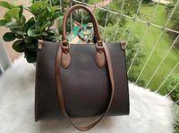 2021 Frauen Onthego Tote Handtasche M44576 M44925 Echtes Leder Handtaschen Messenger Crossbody Umhängetasche Brieftasche Geldbörse