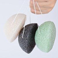 Konjac Bath Sponges Facial Puff Face Cleanse Washing Konjacs Sponge Exfoliator Cleansing Face Care Makeup Tools 1449 V2