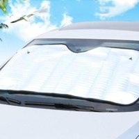 Car Sunshade Single-sided Front Window Sun Shade Aluminum Foil Insulation Block Windshield Cover