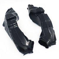 Conjunto de capa de duto de tubo de entrada de ar para GSXR600 GSXR750 2011-16 Motocicleta abs preto