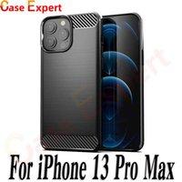 Carbon Fiber Texture TPU Cases for iPhone 13 Pro Max LG Stylo 7 V30 V40 Velvet Samsung Note 20 S21 Ultra Moto G8 Power