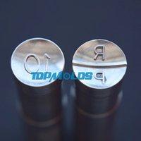 USA 6.5mm RP Candy Tablet Cuscinetto Hard Cuscinetto in acciaio Pressa Punch Stack Set Tools Personalizzato Punch Cast Premere per tablet Machine per la macchina TDP