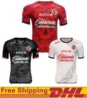 Dhl توصيل مجاني 20 21 Liga MX نادي Tijuana Soccer Jerseys 2021 المنزل الأحمر Lucero Rivero Bolanos قميص بعيدا كرة القدم