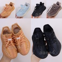 2021 Newest Kanye Designer Children West V2 Hole Hole Runner Shoes Mono Mist Clay respirar Ice Cool Girl Boy Juvenil Kids Yeeezys Boost 350 V2 Sneakers 26-35