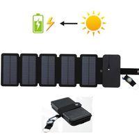 10W Paneles solares Cargador Carga directa Batería Batería plegada Banco de energía Detalle extraíble Caja de carga para productos electrónicos