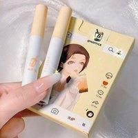 LIP Gloss Maffick Glaze Series Tea Series Tea Fille Matte Velvet Rouge à lèvres ne s'efface pas de la tasse antiadhésifs scintillants