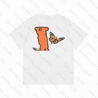 21 여름 남성 여성 디자이너 T 셔츠 느슨한 티 패션 브랜드 탑스 남자 s 캐주얼 vlones 셔츠 luxurys 의류 거리 반바지 소매 옷 tshirts
