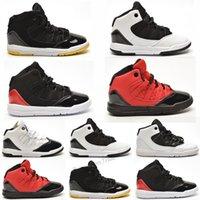 Nike air jordan 11 retro Yeni Kap ve Kıyafeti tasarımcı ayakkabı büyük çocuklar 11 Balo Gece 11 s gençlik çocuk Basketbol Ayakkabıları erkek gece yarısı donanma boyus spor Sneaker
