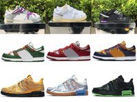 2021 Release Date d'authentique 1 de 50 Dunk The 20 30 Lot 40 Chaussures Futura Hommes Femmes Sneakers en plein air Entraîneurs avec une boîte originale US7-13