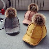 Caps Hats euerdodo осень зима детская шапка для девочек мальчики шапка мода теплый бейсбол дети детей аксессуары