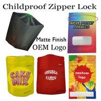Custom logo mylar bags 500 мг Индивидуальные E-сигареты Пакетная сумка Сумка для детей отделкой zip lock bite Отделка таможенные логотипы конфеты цветы пустые молния