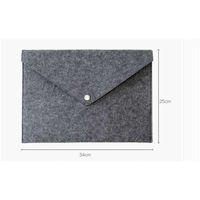 Suministros de archivo Folder Folder Feel Stosed Documentos Oficina de Lujo Oficina Durable Maletín Documento Bolsa de Documento Papel Portfolio Carta Careta A4 FolletasSP0N NEXZ