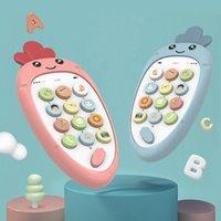 뮤지컬 폰 장난감 유아 0 12 개월 아기 휴대 전화 장난감 아이들을위한 소년 소녀 1 년 교육 선물 학습