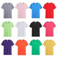 blank plain xxxxl custom logo bulk sublimation mens t shirt for man wholesale unisex round neck short sleeve sport printing men's women summer t-shirts