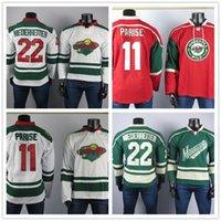 Minnesota Wild Лучший игрок трикотажных изделий 11 Zach Priise Jersey 22 Niederreiter Высококачественные вышитые мужские хоккейные изделия для хоккея сшиты