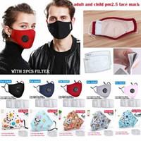 أطفال مع الكرتون أقنعة الوجه الكهربائية تصفية الكربون استراحة صمام PM2.5 الفم القناع واقية الغبار DHB151 DO7P