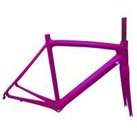 الأسهم خفيفة كاملة ألياف الكربون كامل الطريق الدراجة الإطار di2 دراجة لون مخصص مخصص مع seatpost frok سماعة إطارات