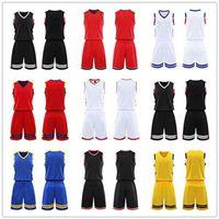 2021 Men Team Basketball jersey Sets pantaloncini da basket sportswear Running clothes White Black Red Purple Green 36 3207