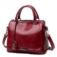 2021 Nouveaux sacs HBP Fashion Designs Sacs à main Yogodlns Retro Rivet Femmes Sac à main PU Cuir Baoliang Pièce de sac à bandoulière unique L'oreiller PA