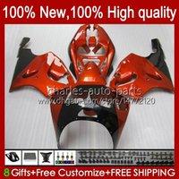 Bodywork Body for Kawasaki Ninja zx-750 zx7r zx750 zx 7 R zx 750 28hc.20 zx 750 1997 1998 1999 2000 2001 2002 2003 zx-7r 96 97 98 99 00 01 02 03 OEM 페어링 오렌지 광택