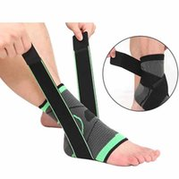Men Ankle Support Brace 3D Weaving Elastic Nylon Strap Badmi...