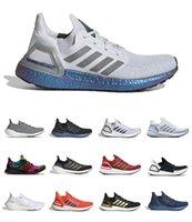 Ultraboost 20 2021 UB 4 6.0 أحذية رجالي رجالي النساء الترا SE الثلاثي الأبيض الأسود الشمسية رمادي برتقالي العملة العالمية الذهب معدني تشغيل chaussures المدربين أحذية رياضية