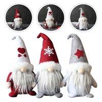 Christmas Decorations 3pcs Creative Faceless Doll Ornament Gnome Home Decor