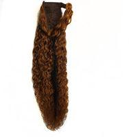 Extensões de cabelo humano europeu da pele do rabo de cavalo de qualidade superior
