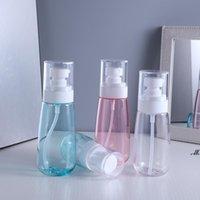Mist Spray Bottle Plastic Travel Refillable Transparent Airless Pump Perfume Pocket Bottle Individual Package DWB7772