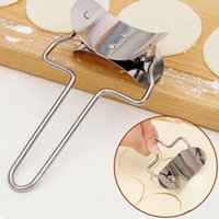 Household Dumplings Stainless Steel Pressure Skin Mold Hand Push Cut Dumpling Mmachine Kitchen Tools Baking & Pastry