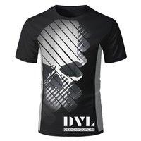 DYL 2021 Tasarım Erkek Marka T Gömlek Bisiklet Sürme Tişört Motosiklet Sürme Tişört Nefes Kısa Kollu Jersey Teessoccer