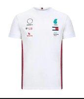 2021F1 Formula One Auto Racing Suit Estate Asciugatura rapida T-shirt a maniche corte