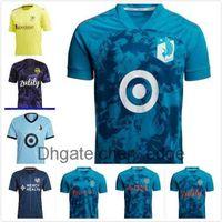 Parley Prinblue MLS DC Birleşik Futbol Formaları 21 22 LAFC Inter Miami Atlanta La Galaxy York Montreal Columbus Jersey Seattle Sounders Kansas